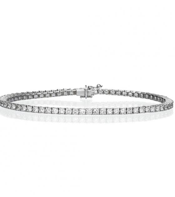 Tennis bracelet 5ct